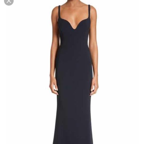 Stella McCartney Dresses | Blacknavy Blue Evening Gown | Poshmark